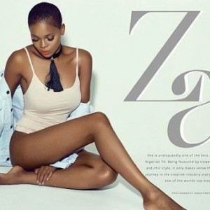 Zainab Balogun Covers Bold Magazine June New Edition