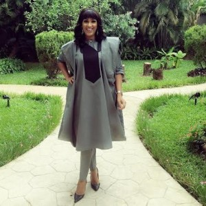 Photos: Actress Juliet Ibrahim Slays In Agbada