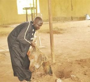 Prophet Buries Cow Heads, Tortoise In Church (Photo)