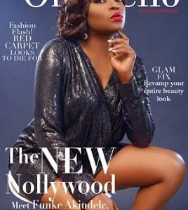 Photos: Funke Akindele Slays On OnoBello Magazine Cover
