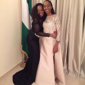 VP's Daughter Kiki Shares Cute Photo With Her #WCM, Her Mother, Dolapo Osinbajo