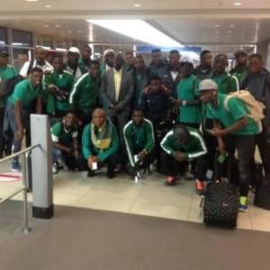 Nigeria's Dream Team Arrive Seoul Ahead Of Korea Tourney (Photos)