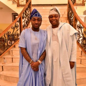 """""""So Much Money""""; Davido Shares Photo Of Himself And His Dad In Dapper Outfits"""