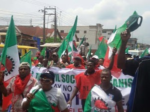 Photos From NLC Protest In Lagos
