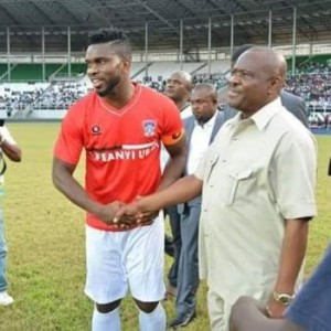 Governor Wike Appoints Joseph Yobo As Senior Special Assistant On Sports Development