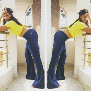 Flavour's Babymama Sandra Okagbue, Shares Sexy New Photo