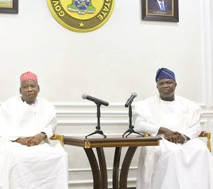 Gov Ambode Receives Kano State Governor On A Courtesy Visit To Lagos State House (Photos)