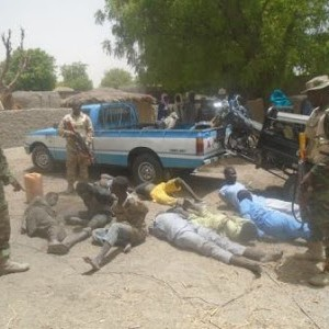 More Boko Haram Militants Arrested By Soldiers During Clearance Operation In Borno (Photos)