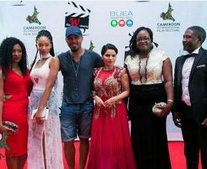 Fans Blast Ramsey Nouah for Not Dressing Well to a Film Festival in Cameroon (Photos)