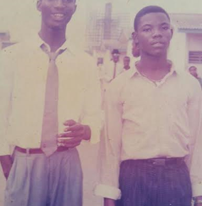 Throwback Photo Of Comedian, Okey Bakassi