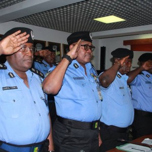PHOTOS: New IG Of Police,Idris Holds Meeting With Police Top Rank Officers