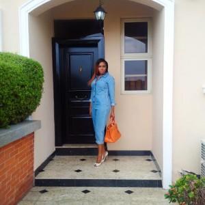 Photos: Chika Ike Flaunts Her Hermes Birkin Bag