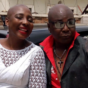 Charly Boy Shares Cute Photo With Look-Alike Daughter