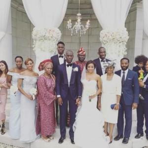Photos: Chiwetel Ejiofor's Sister Kandibe & Dele Arogundade Wed In Croatia