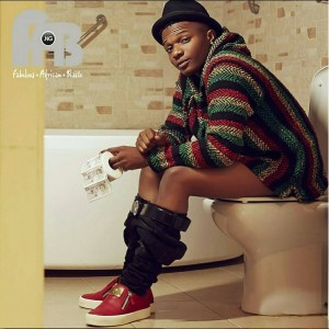 Wizkid Sits On A Toilet On The Cover Of Fab Magazine (Photo)