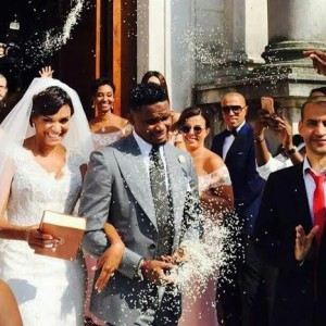 Samuel Eto'o Marries His Girlfriend In A Lavish White Wedding In Italy (Photos)
