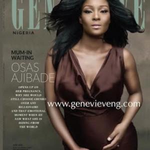 Photos: Osas Ajibade Covers Genevieve Magazine June Edition
