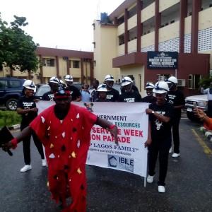 PHOTOS: Lagos Civil Servants Celebrate Public Service Week