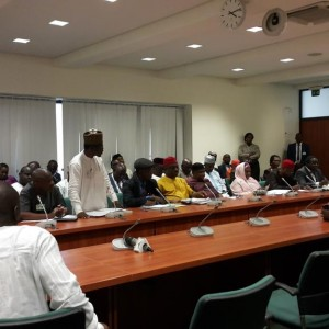 PHOTOS: Dogara Holds Meeting With Resident Doctors On Strike
