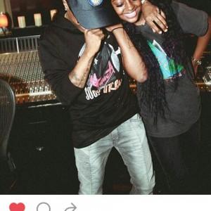 Wizkid Gets Cozy In The Studio With American Singer