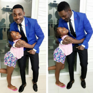 AY Shares Adorable Photo With His Daughter
