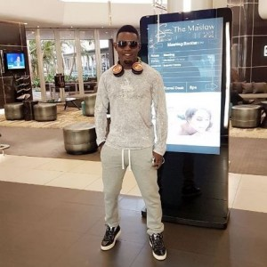 Comedian AY Looking Fresh As He Lands In South Africa