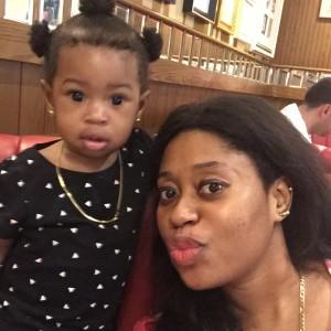 Yoruba Actress Bridgett's Daughter Clocks One