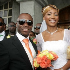 Julius Agwu And Wife Celebrate 8th Wedding Anniversary With Wedding Day Photos