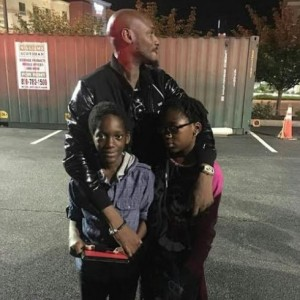 2face Pictured With His Children In The US