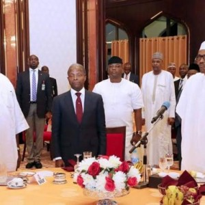 Photos: President Buhari Breaks Ramadan Fast With Ministers