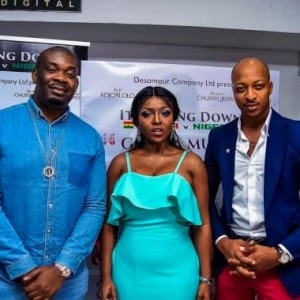 Photos: Don Jazzy, Julius Agwu, Yvonne Okoro, Nkem Owoh Dazzle At 'Ghana Must go' Movie Premiere In Lagos