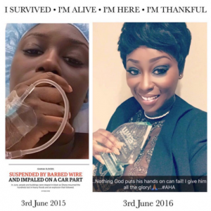 TV Personality Peace Hyde Shares Amazing Testimony Of Survival