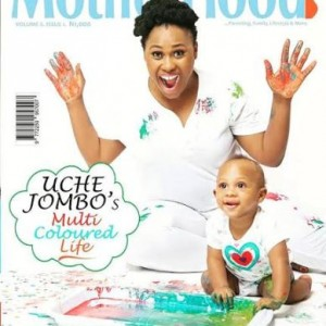 Uche Jombo-Rodriguez & Son Cover Motherhood In-Style Mag (Photo)
