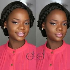 Beautiful Makeup Photos Of Olajumoke Orisaguna