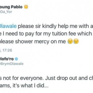 See Singer Brymo's Epic Reply To A Fan Who Begged Him For Money
