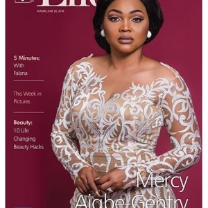 Mercy Aigbe-Gentry Fierce On The Cover Of Guardian Life Magazine