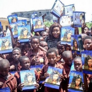 Ruth Kadiri Visits School, Empowers 100 Students With Gifts and Inspirational Talk