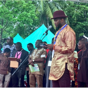 Joseph Yobo, Miss Nigeria & Muma Gee At Ogoni Cleanup Event In Rivers (Photos)
