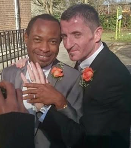 Photos Of Former Nollywood Actor, Kayode Ogunyemi And His Gay Irish Husband