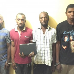 PHOTO: Police Arrest A Notorious Kidnapping Gang In Rivers State