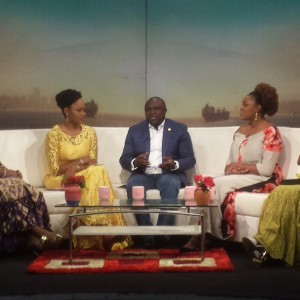 Photos: Gov Ambode Makes Appearance On Your-View talk show on TV Continental