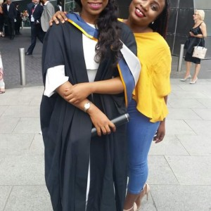 Nigerian Lawmaker's Daughter Graduates As Best Student In UK University (Pics)