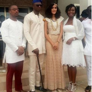 Photos From Sonia Ibrahim's Traditional Wedding Ceremony In Accra, Ghana