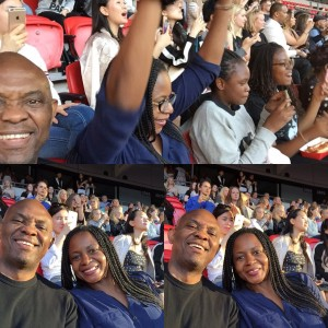 Photos Of Tony Elumelu And Family At Beyonce's Formation World Tour In London