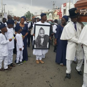 Photos From OJB'S Funeral Service