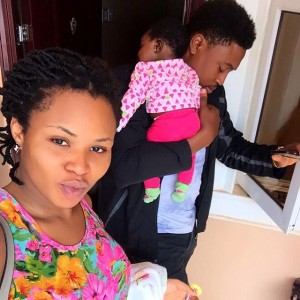 Photos : Actor Nosa Rex Shares Lovely Photos With His Wife And Child