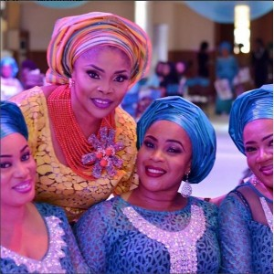 Photos From Actress Lola Alao's Father's Burial