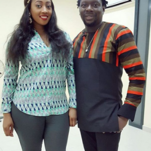 Beautiful Photo Of Comedian Klint Da Drunk And Wife