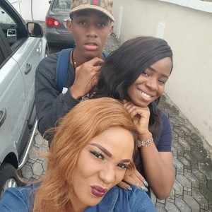 Iyabo Ojo Pictured With Her Grown Children (Photos)