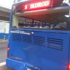 PHOTOS: Tout Destroys BRT Buses